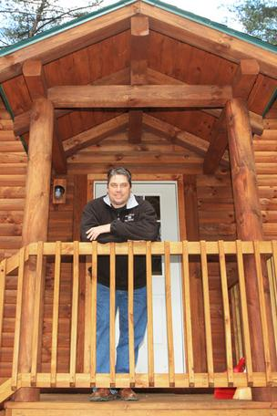 Derek Brammell and wife Jennifer left their jobs as a civil engineer and pharmacist, respectively, for the vacation property business. They run a profitable 12-cabin rental company in the Hocking Hills, among other pursuits.