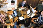 Entrepreneurs turning coffee shops into offices