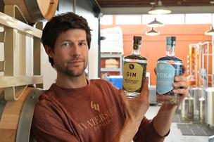 Greg Lehman's Watershed Distillery is starting with gin and vodka, which take just days to prepare.