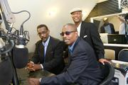 TalktainmentRadio.com founders Khari Enaharo, left, Charles Richardson, back, and Charles McCrimmon are going after online listeners looking for alternatives to traditional radio as it continues the trend toward consolidation and cookie-cutter content.