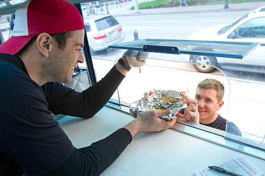 Brian Reed's Mojo TaGo taco truck serves mostly that – Mexican-inspired food. But the former real estate professional also is expanding into Italian and sliders.