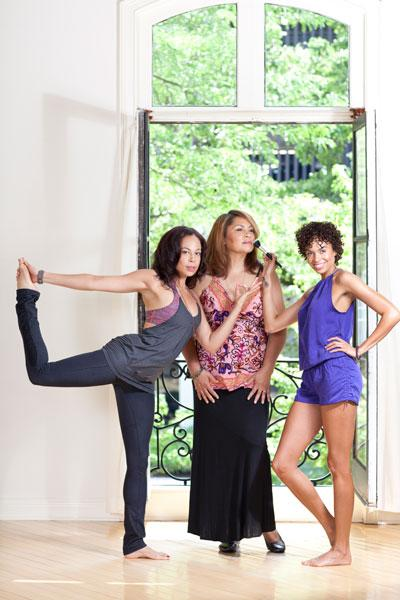 Mom Wauvette Duncan, middle, and daughters Chanelle Redman, left, and Deja Redman opened a spa downtown.