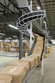 Accel's new facility features a conveyor network that was designed for increased speed.
