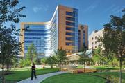 The Miami Valley Hospital Heart and Orthopedic Center project in Dayton is a LEED silver-certified inpatient hospital that meets the 2030 Challenge through use of ambitious energy reduction efforts.