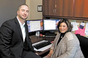 Health Care DataWorks' executive Jason Buskirk relies on Human Resources Manager Sheila Aekins not just to focus on people at the company but to provide input about business decisions as it charts a growth course.