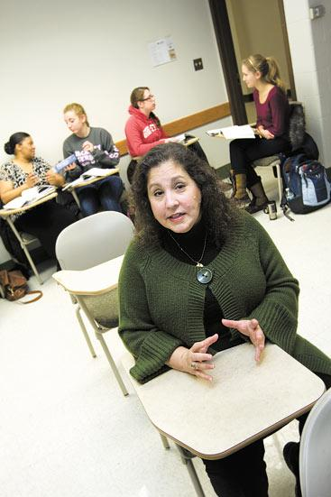 Karen Sobul, fiscal officer and grants specialist at the OSU Foreign Language Center, said more students are studying foreign language as part of a course of study that mixes it with another discipline such as business or accounting.