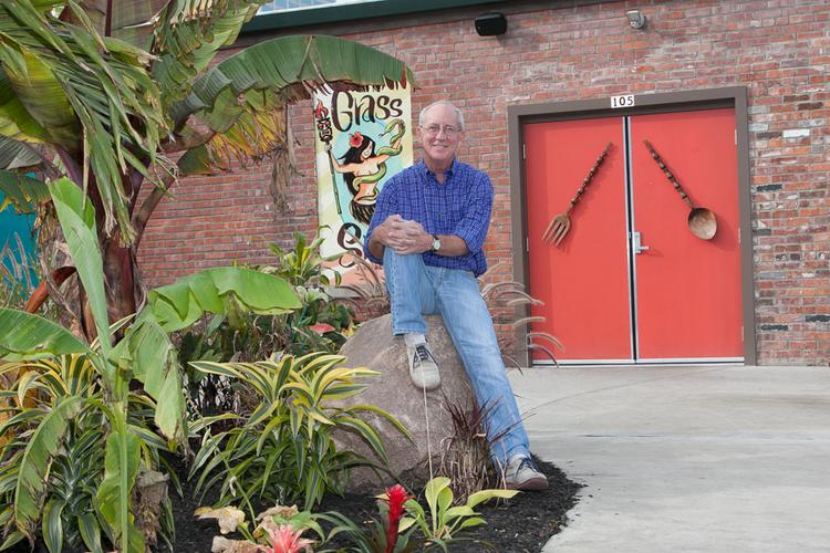 Randy Walker has spent decades developing properties in downtown Columbus. He recently helped Liz Lessner's restaurant group convert a structure on North Grant Street into the Grass Skirt Tiki Room.