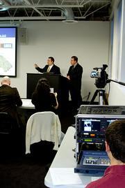 Successful presenters at the 1492 session included the team from Capstone Innovations and Azoti Inc.