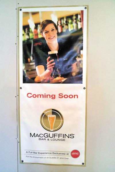 MacGuffins bar is expected to open at Lennox's AMC theater this month.