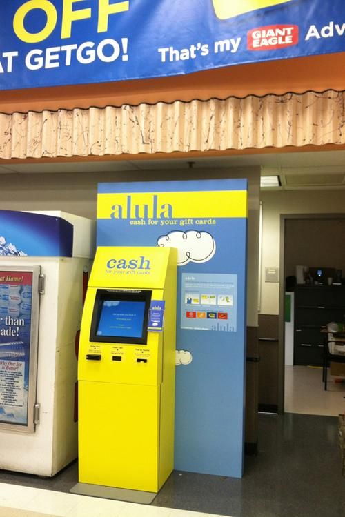 Got gift cards you wanna get rid of? Alula can help at area Giant ...