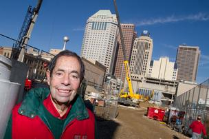 The latest in a long string of local development projects with Bob Weiler's involvement is the HighPoint on Columbus Commons downtown.