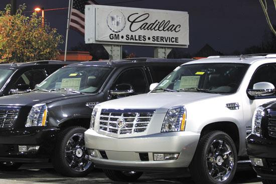 Joseph Auto Group's Hummer dealership on West Dublin-Granville Road is now Capitol Cadillac. The company alleges after buying the rights to sell Caddys in Dublin from Germain Motor Co., Germain lured its customers to Easton.