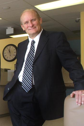 Benchmark Bank CEO Jerry Caldwell says the loan portfolio has largely been scrubbed.