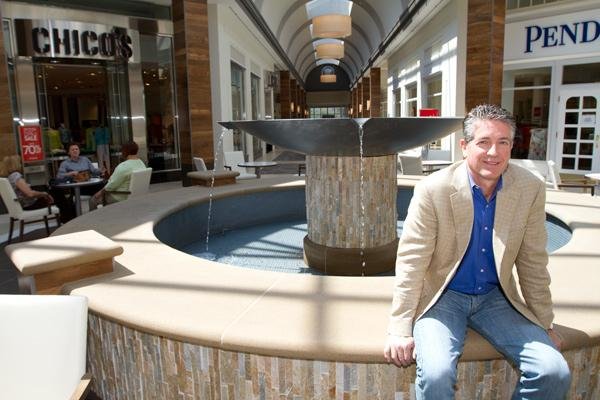 Tom Carter led an investment team that bought the former Worthington Square Mall in 2010, when it had lost more than half its tenants. After a multimillion-dollar renovation, occupancy is topping 70 percent.