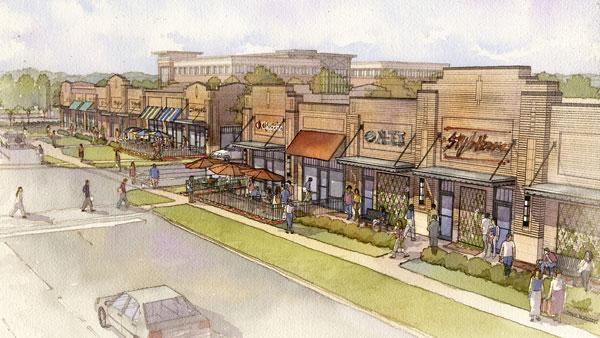 A strip center is going on land owned by Gahanna-Jefferson Public Schools.