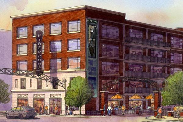 Developers are planning apartments for the former Fireproof Records building in the Short North.