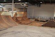 The Flow indoor skate park in Columbus.