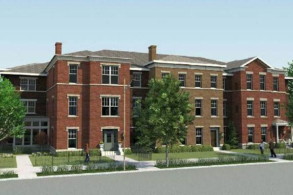 The Hawthorn Grove apartments are expected to begin rising early next year.
