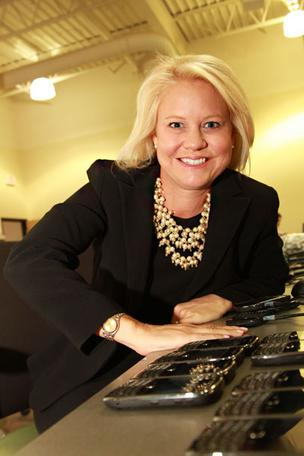 e-Cycle co-founder Tonia Irion is expanding the electronics recycling firm in New Albany and Hilliard.