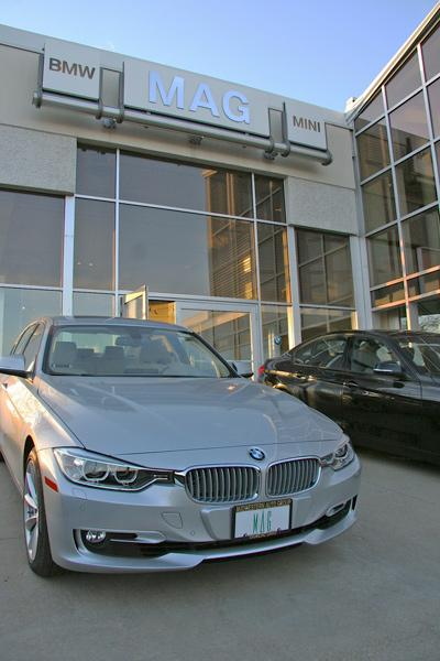 Midwestern Auto Group wants to move its BMW dealership on Post Road to Perimeter Loop Drive, where it sells several other luxury makes.