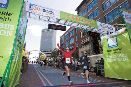 Nationwide Better Health raised its profile by sponsoring the Columbus Marathon, but it ultimately didn't help enough.