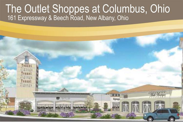 Horizon Group Properties Inc. is proposing an outlet mall at Route 161 and Beech Road in New Albany.