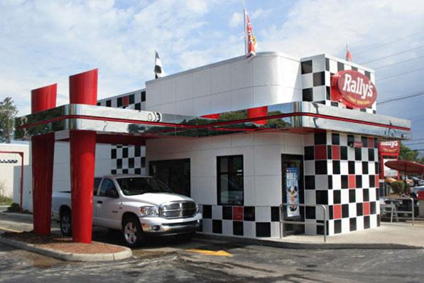Rally's is testing a new look at nine restaurants in the U.S., including three Columbus-area restaurants such as this one at 3260 E. Broad St.