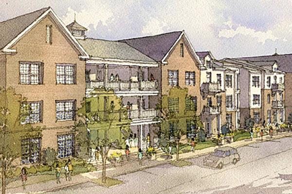 Trivium Development's plan calls for hundreds of apartments near Polaris in a development dubbed Ravines at Westar.