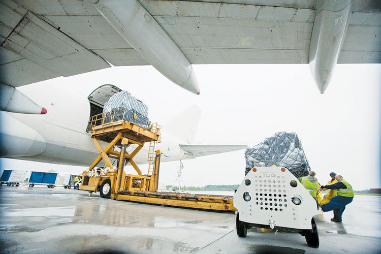 Cargo comes into Rickenbacker by the ton, but not in the volumes officials had hoped.