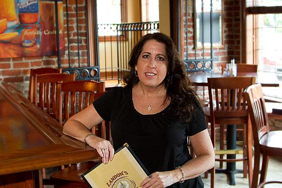 Landon's Corners GM Julye Shore says the downtown New Albany restaurant hopes to bring in workers from the city's office parks.