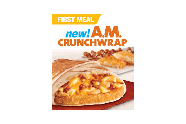 "Taco Bell is planning on rolling out new options for breakfast, or ""First Meal,"" next year across the U.S."