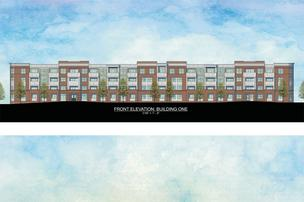 Crawford Hoying Development plans a five-story apartment complex along Wilson Bridge Road.