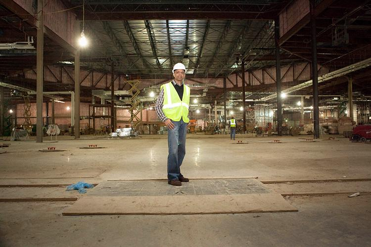 Ameet Patel is in charge of keeping Penn National Gaming's Columbus casino on schedule for its projected late 2012 opening.