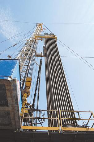 Ohio's natural gas drilling production is taking shape.
