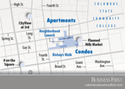 Edwards Cos. has secured $2.1 million public financing for the second phase of its condominium and apartment project between East Gay and East Long at North Fourth streets.