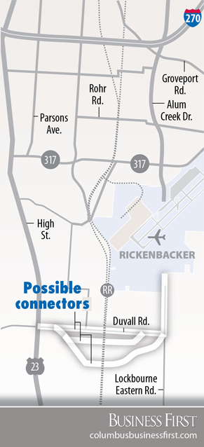 Rickenbacker connector proposal boosted by ODOT takeover