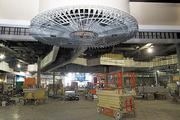 The interior of the new casino at Scioto Downs will have video lottery terminals, restaurants and a bar.