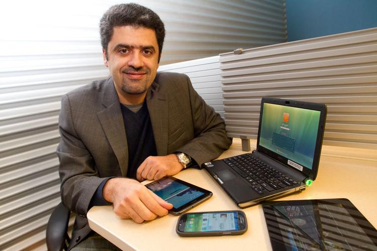 Ohio State prof Hesham El Gamal has his kids to thank for sparking an idea for speeding load times for users of tablets and mobile phones.