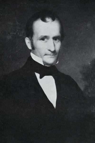 Alfred Kelley strongly believed building canals to connect Ohio with major ports was a key to the area's economic success.