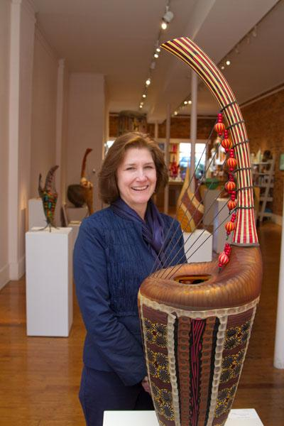 Sherrie Gallerie has opened itself up for corporate entertaining. Owner Sherrie Hawk said companies like to show off the vibrancy of the Short North to out-of-town clients.