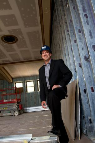 Matt McClellan is overseeing construction of Columbus developer Ron Pizzuti's personal art gallery in the Short North in the former Order of the United Commercial Travelers headquarters at 632 N. Park St.