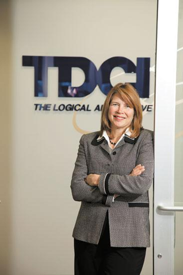 Rhonda DeMuth has built her software company by developing a strong management team and using an outside executive group for business advice.