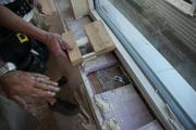 Hawthorne designed a window framing system that cuts down on thermal transfer.
