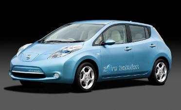 Nissan plans to introduce a lower-priced version of its all-electric Leaf.