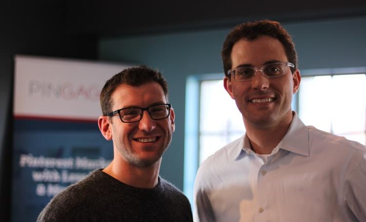Bob Gilbreath, right, was chief marketing strategist and a partner in Bridge Worldwide, which sold to the global advertising behemoth WPP in 2010 and has since rebranded Possible Worldwide. After a brief stint in venture capital, he invested and co-founded Pingage with Michael Wohlschlaeger, a Brandery accelerator graduate.
