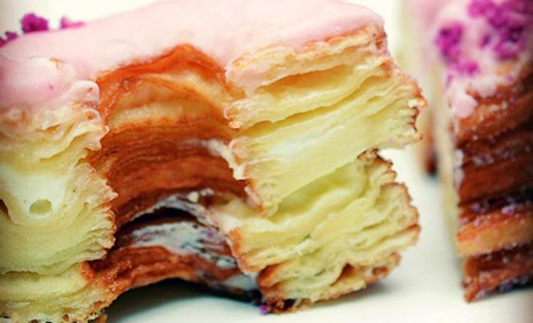 The Cronut is the invention of Manhattan baker Dominique Ansel.