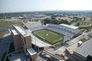 Mean Green Stadium on the campus of the University of North Texas