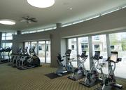 The exercise room at 1400 Hi Line even comes with a view.