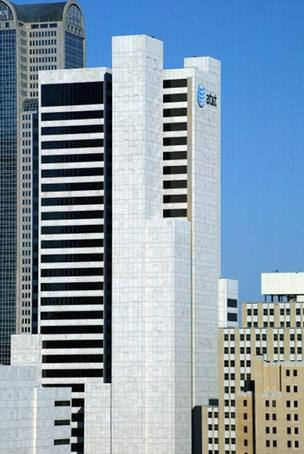 AT&T Inc.'s headquarters is in downtown Dallas.
