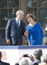 Five presidents gather to dedicate George W. <strong>Bush</strong> Presidential Center